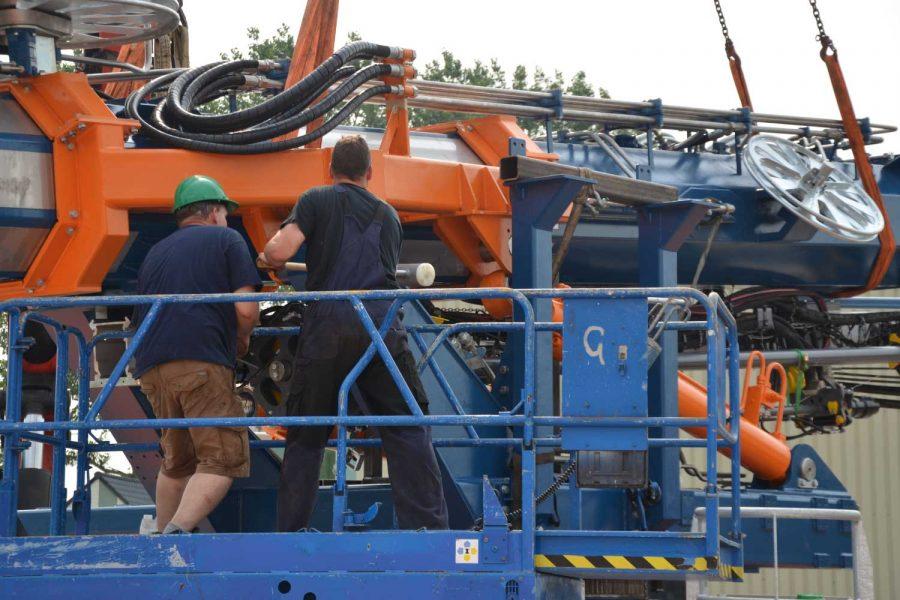 installatie hydrauliek